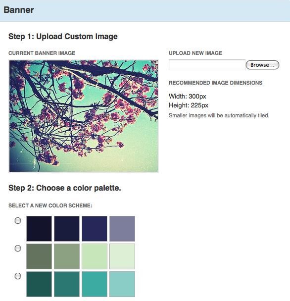 blog theme chroma