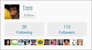 Trent Follow Me